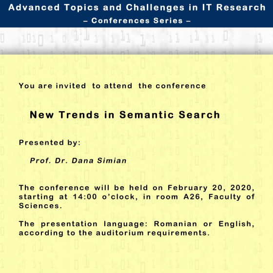 New Trends in Semantic Search