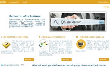 e-Inclusion e-learning platform